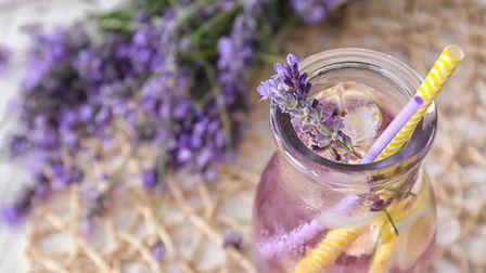 Cool down with some lavender lemonade. Image: Getty