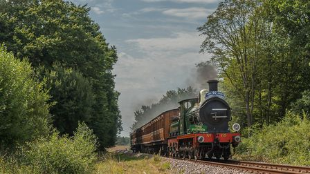 Running on the day of re-opening, this is 'The Pioneer' - South Eastern & Chatham Railway O1 class N