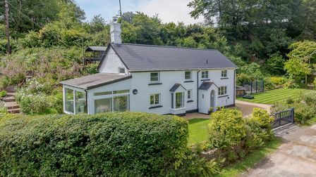 Bridge Cottage at Sheepwash is an immaculate, modernised three-bedroom property. Photo: Strutt & Par