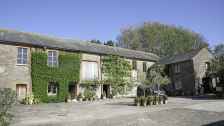Homefield Farm offers a great lifestyle opportunity with huge potential. Photo: Luscombe Maye