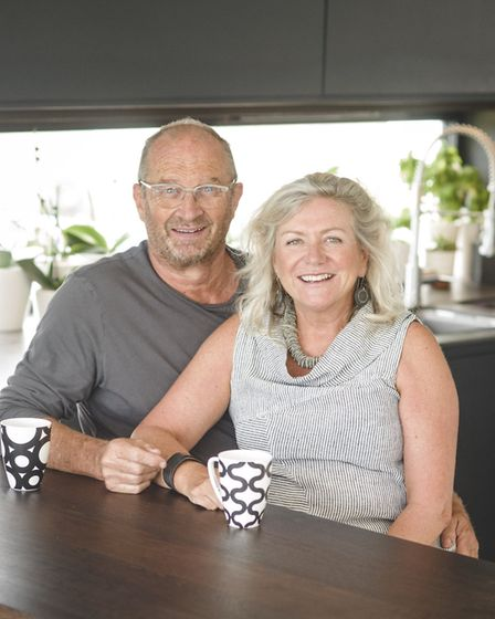 Simon and Nikki Rice designed and built their dream home together. Photo: Steve Haywood