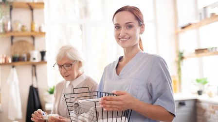 Carers can offer companionship, help arrange social outings and run errands. Picture: Getty Images