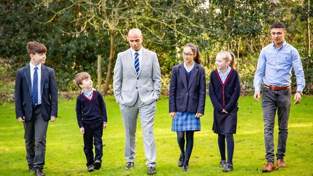 Headmaster Karl Guest - 'We are all delighted with the fantastic A-level and GCSE results our studen