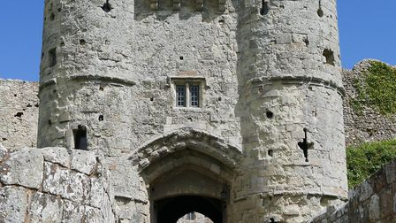 Carisbrooke Castle gatehouse entrance