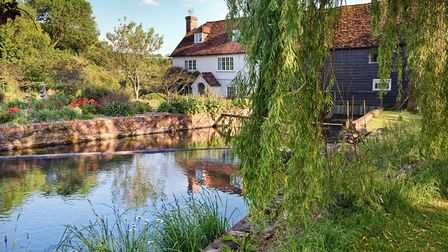 Bere Mill is part of the Mill Trail a circular walk starting from Whitchurch Silk Mill