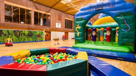 There's plenty of fun both indoors and out. Photo: Andrew Collier Photography.