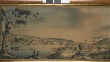 View of Sydney Cove, c1793 (State Library of Victoria)