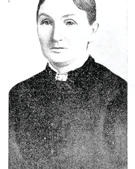 Ann Fitzgerald, at 31 in 1860, second wife of school teacher and embezzler John Hobden (Libraries Ta