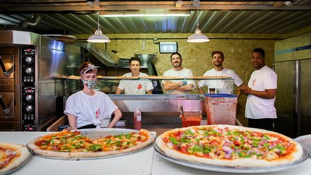 Voodoo Rays offers huge 22-inch pizzas