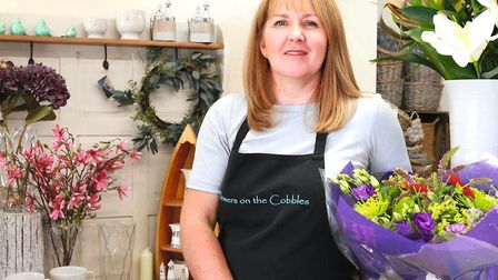 Helen Williams of Flowers on the Cobbles. Photo: Kirsty Thompson