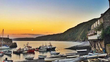 Another beautiful day begins in Clovelly, North Devon. Photo: Ellie Jarvis