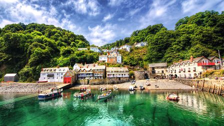 The North Devon village of Clovelly has recently been named as one of the the country's most Instagr