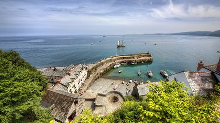 There's been a harbour at Clovelly for hundreds of years. Picture: Getty Images/iStockphoto/RolfSt