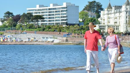 Take a stroll along the seafront to see Torquay at its best:Photo: The English Riviera BID Company