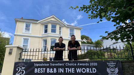 Torquay is home to the 'best B&B in the world', the 25 Boutique. Photo: The 25 Boutique B&B