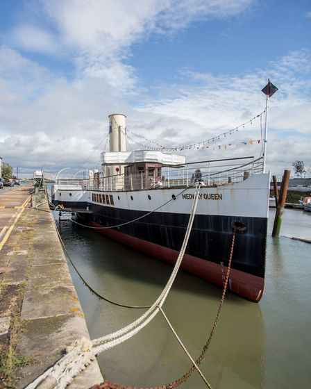 The Medway Queen, a paddle steamer built in 1923, went on to become one of the Little Ships responsi