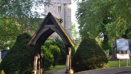 Kings Worthy's St Mary's church sits on the Nun's Walk, an ancient route into Winchester credit Emma
