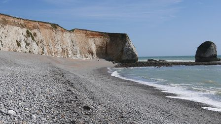 Freshwater Bay on the Isle of Wight credit Fiona Barltrop