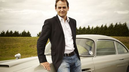 Ben Collins was The Stig on Top Gear for eight years. Image: Dickie Dawson