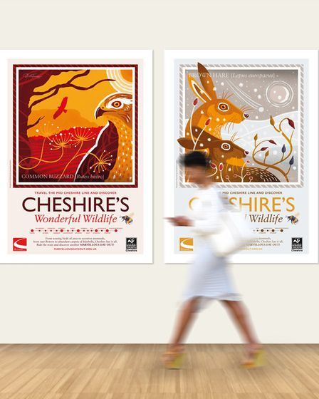 The Nicky Thompson collection of railway posters exhibiting at Tatton Park