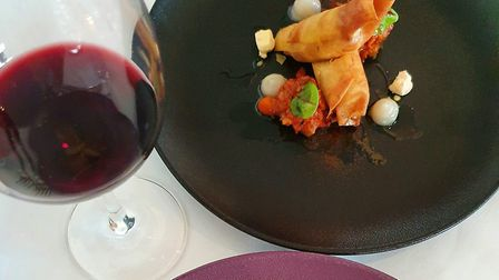 The delicious starters at Ranmore restaurant are packed full of flavour. Image Matthew Williams