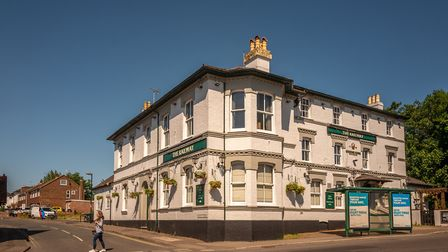 The Railway pub opposite the station dates from about 1850 or so. There were a lot of towns like Bur