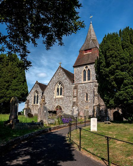 There are only three other churches in the country dedicated to St Cosmas and St Damian, and Keymer