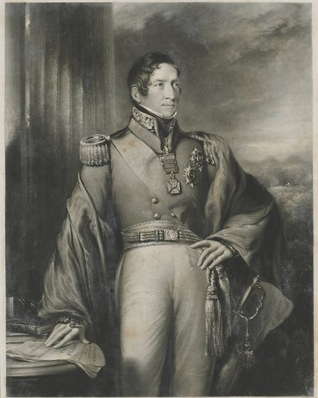 New South Wales Governor Sir Thomas Makdougall Brisbane who gave Deptford convuict Billy Blue's ferr