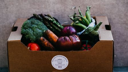 Heritage at Home veggie box
