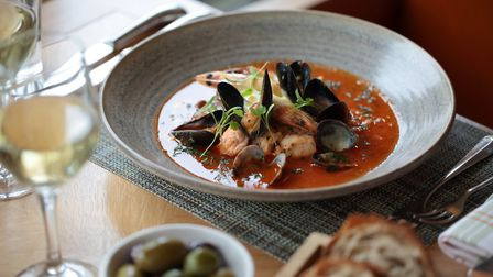 Dine on seafood in The Stables at The Grove (Chris Tubbs Photography)