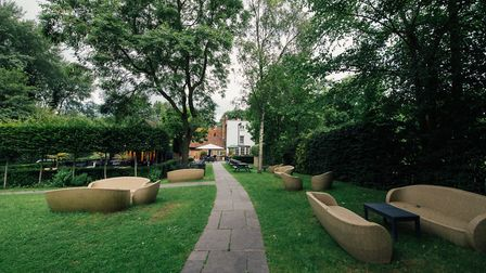 The garden at the Red Lion (photo courtesy of venue)