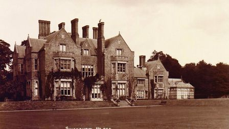 Shoreham Place was destroyed by fire in 1959