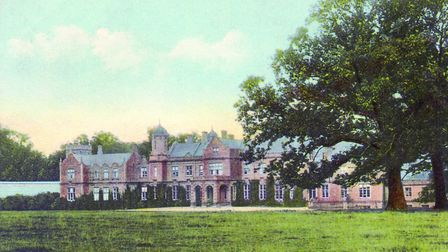 Eastwell Park at Boughton Aluph was demolished in 1926 and replaced by a new house