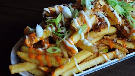 The Japanese spicy fries were the stand out of the evening. Photo: The Satnd Off