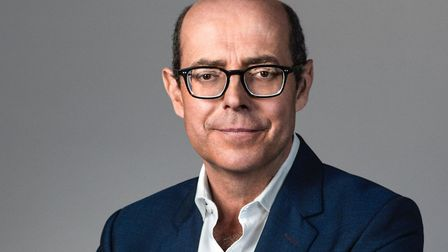 Journalist and new patron of East Cheshire Hospice, Nick Robinson, who was born and brought up in Ma