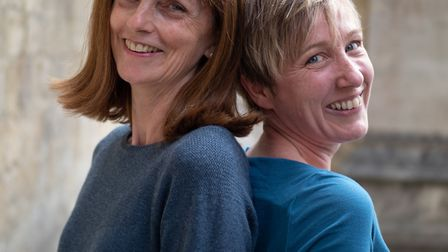 Nicky Gottlieb and Becky Brown organise Winchester's Heritage Open Days credit Mike Hall