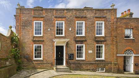 The front of Lamb House, Rye (c) National Trust Images/Andrew Butler