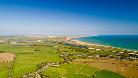 Camber and Rye Harbour (c) Altitude Drone/Getty Images/iStockphoto