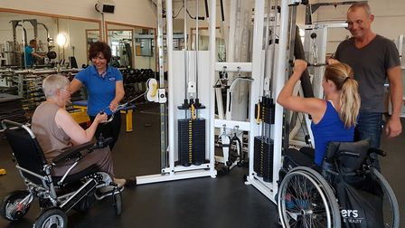 The gym at The Samson Centre Image: Supplied by The Samson Centre