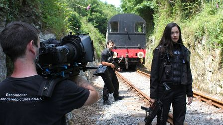 Alien Outbreak was filmed using actors and crew from the South West. Photo: Rendered Pictures