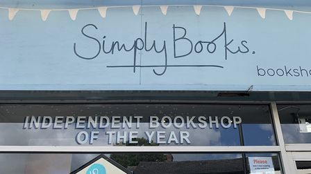 Simply Books in Bramhall, a very special little bookshop with an addictive personality