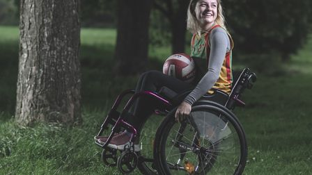 Tilly is now part of the GB Wheelchair Rugby Squad, while also playing for the Exeter Hawks communit