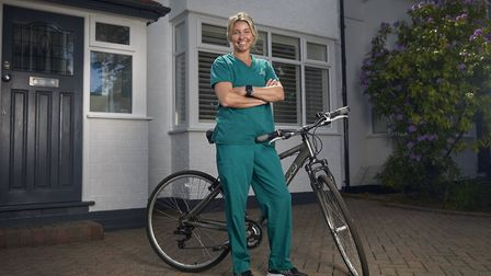 Lizzy MacCallum, NHS consultant from Wilmslow Photo: Alex Livesey