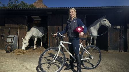 Katie Rooney, horse rider from Chelford Photo: Alex Livesey