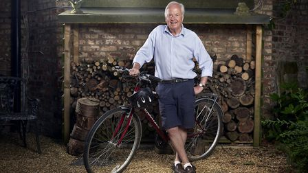 Graham Geary– back to cycling at 75 from Alderley Edge Photo: Alex Livesey