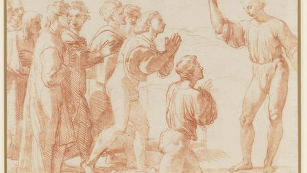 Christ's Charge to Peter, circa 1514 by Raphael. Image: Royal Collection Trust / © Her Majesty Queen