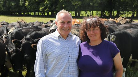 Nigel and Penny Brightleigh Farm, Outwood. Image: The Dorking Butchery