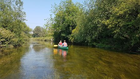 Canoe Wild runs a hire operation on the River Stour, just outside Canterbury