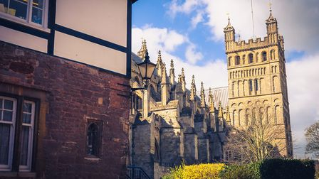 The jewel in Exeter's crown is Exeter Cathedral. Photo: momentstomedia.com