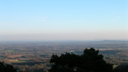 View from Blackdown. Photo: Margaret Brecknell
